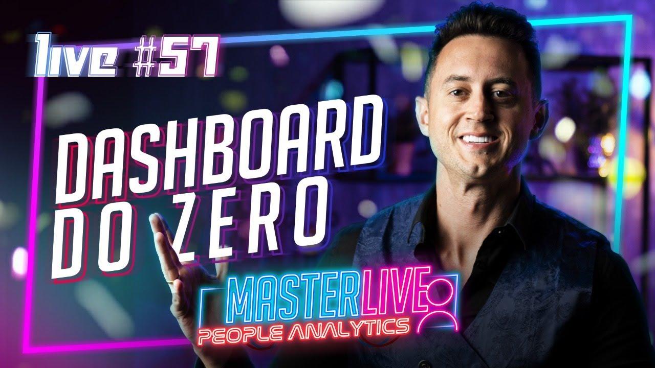 MasterLive Dashboard de People Analytics (RH) do ZERO